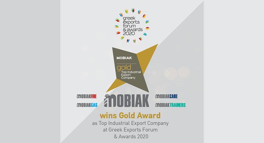 Η ΜΟΒΙΑK κατακτά την πρώτη θέση στην κατηγορία «Top Industrial Export Companies»